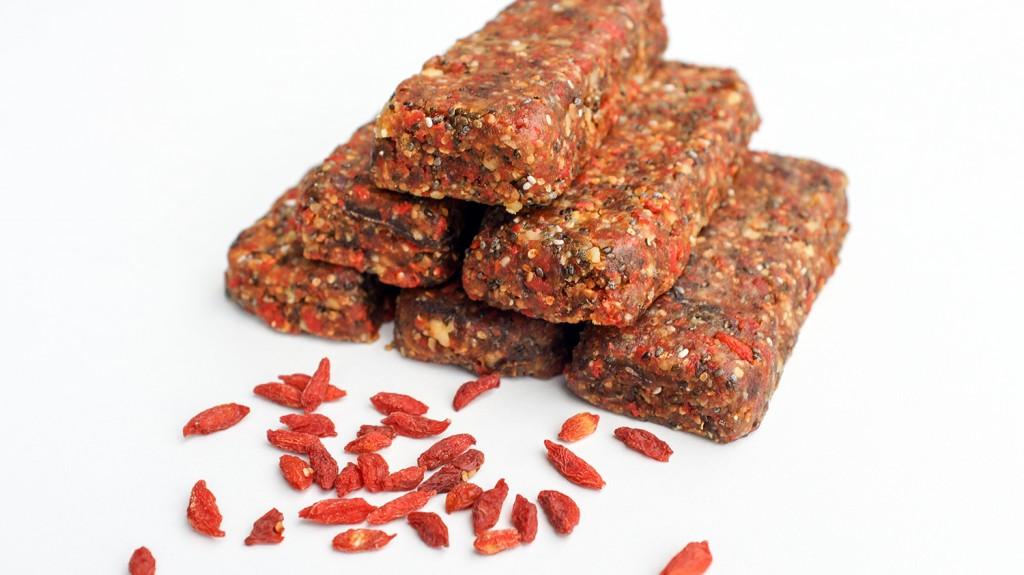 Proteinriegel Goji Chia