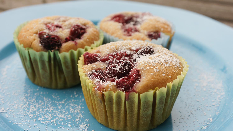 vegane himbeer muffins rezept superfoods blog. Black Bedroom Furniture Sets. Home Design Ideas