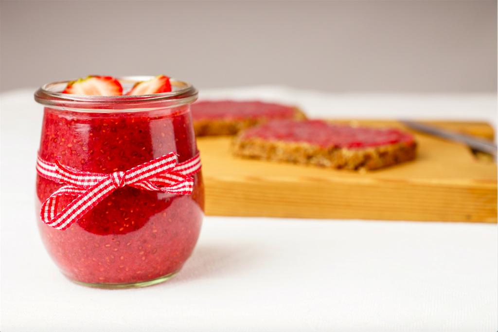 Erdbeer Chia Marmelade